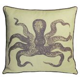 Cuttlefish Decorative Pillow