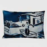 Lobsterboat Decorative Pillow