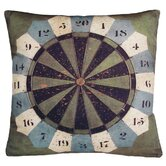 Darts Gameboard Decorative Pillow