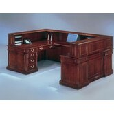 Keswick &quot;U&quot; Reception Desk with Right Return