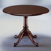 Governor's 48&quot; Round Queen Anne Conference Table
