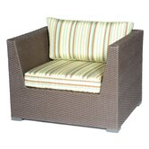Carmel Deep Seating Arm Chair with Cushions