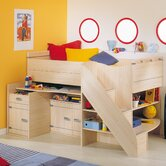 Skipper Compact High Sleeper Bed and Desk Set