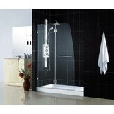 Aqua Lux Hinged Door Shower Enclosure and Base