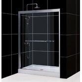 Duet Sliding Door Shower Enclosure and Amazon Base