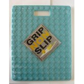 Gripper Non-Slip Safe Cutting Board in White and Blue