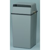 36 Gallon Secure Document Receptacle with Tumbler Lock and Keys