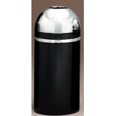 Metal Series Monarch 15 Gallon Open Top Trash Can