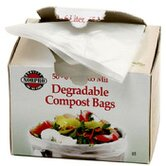 Degradable Compost Bags (Set of 50)