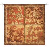 Botanical Scroll BW Wall Hanging