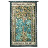 William Morris Woodpecker II Tapestry