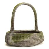 Farm Basket Round Planter