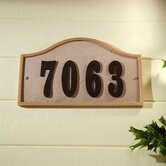 Ridge Stone Serpentine Address Plaque Kit