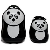 2 Piece Pom Panda Children's Luggage Set