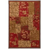 Select Kaleidoscope Patchwork Brocade Rug