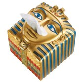 King Ah-Ah-Choo Egyptian Tissue Box Cover