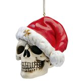 Skelly Claus Holiday Skeleton Ornament (Set of 3)