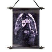 Lost Soul Dark Angel Canvas Wall Scroll Tapestry
