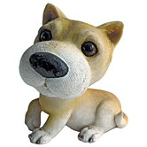 Prized Pup Husky Puppy Dog Statue