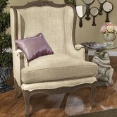 The Carlisle Louis XV Wing Chair