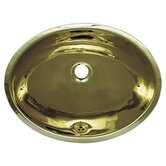 Decorative Undermuont Smooth Oval Basin