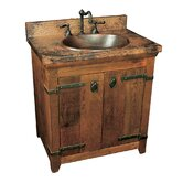 "30"" Old World Vanity Base wtih Tuscany Vanity Top"