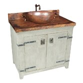 "36"" Old World Vanity Base with Tuscany Vanity Top"