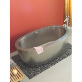Aspen Hand Hammered Copper Slipper Bathtub