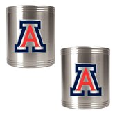 NCAA 2 Pieces Stainless Steel Can Holder Set