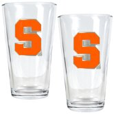 NCAA Pint Ale Glass 2 Piece Set