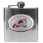 NHL 6oz Stainless Steel Flask