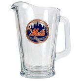 MLB 60 Oz Glass Pitcher