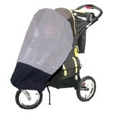 GoGoBabyZ Single Jogging Stroller Sun, Wind and Insect Stroller Cover