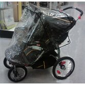 Baby Trend Front Swivel Wheel Double Navigator Stroller Weather Cover