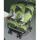 Peg Perego Aria Twin, and Aria Twin 60/40 Twin Side by Side Stroller Weather Cover
