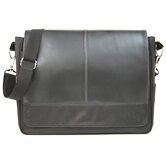 Messenger Laptop Bag in Black