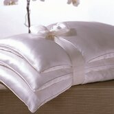 Basics Double Silk-Filled Pillow in White