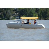 Escapade Pedal Boat with Arch and High Windshield