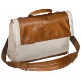 Tuscany Antonia Flap-Over Briefcase