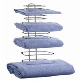 Four Guest Towel Holder