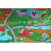 Children's Play Farm Kids Rug