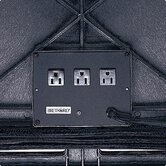 Plastic Table 3-Outlet Electrical Unit