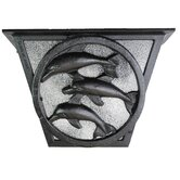 "Americana Dolphin Series 6"" Flush Mount"