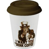 "Kaffeebecher ""Drink Coffee (Uncle Sam)-Traveler's"""