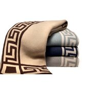 Eco Greek Key Blanket