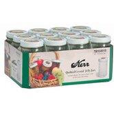 12-oz.Decorative Jelly Jar (Set of 12)