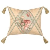 "Chesapeake 15"" x 18"" Pillow with Braid & Tassels"
