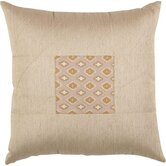 "Biltmore 18"" x 18"" Pillow with Self Cord in Khaki"