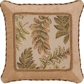 Woodland Square Pillow with Braid and Cord