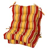 Outdoor Seat / Back Chair Cushion (Set of 2)